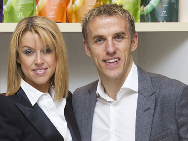 Julie and Phil Neville