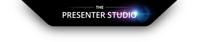 the presenter studio logo