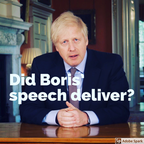 Did Boris' Speech Deliver?
